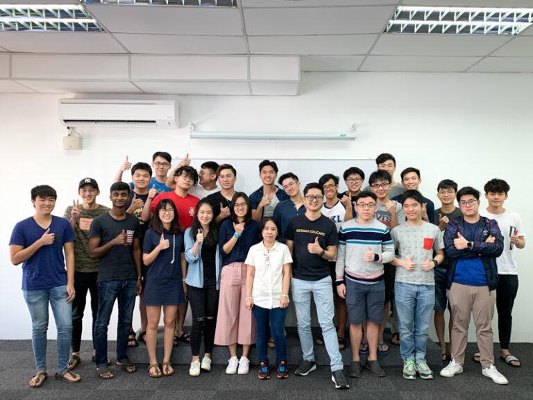 edu8 Studenten group photo
